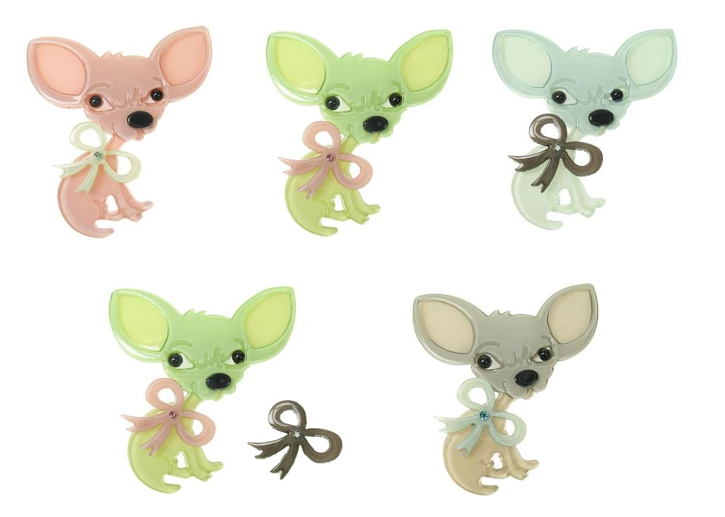 BIG BABY Chihuahua Chiwawa Dog Hair Slide/Clip