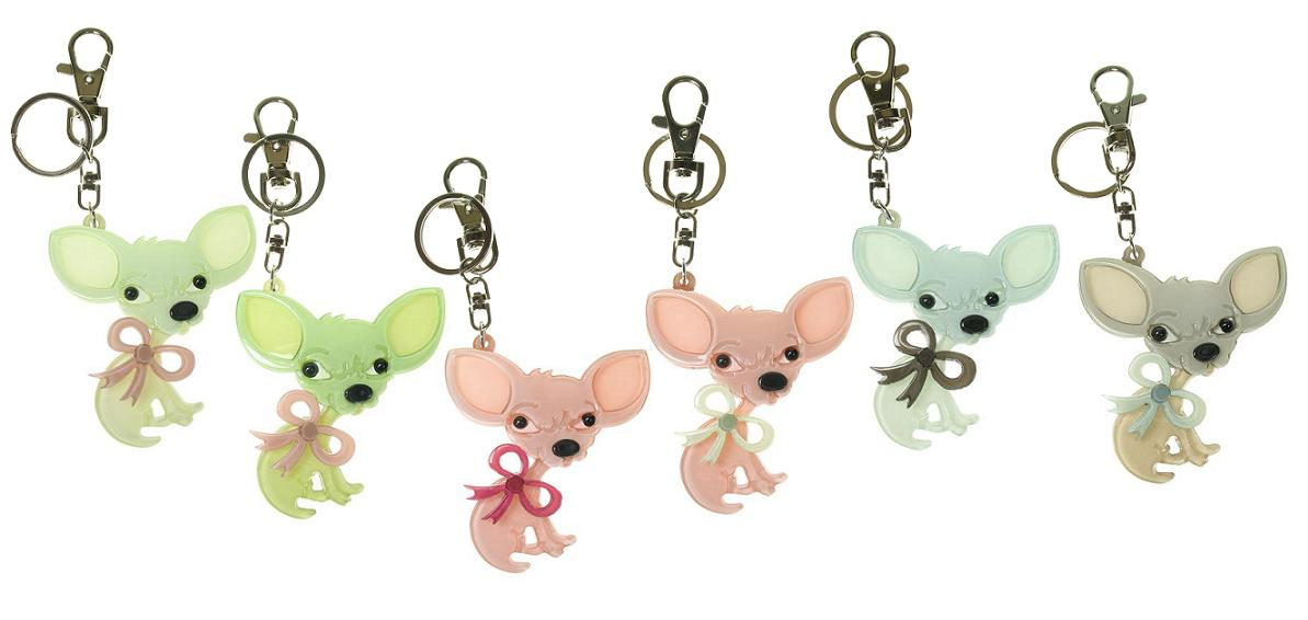 BIG BABY Chihuahua Chiwawa Dog Key Ring/Bag Charm