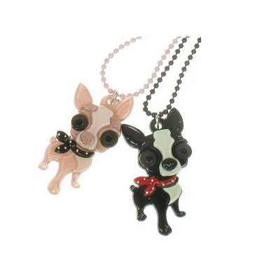 BIG BABY Chihuahua Chiwawa Dog With Neck Tie Necklace