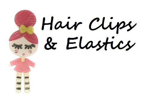Hair Clips & Elastics