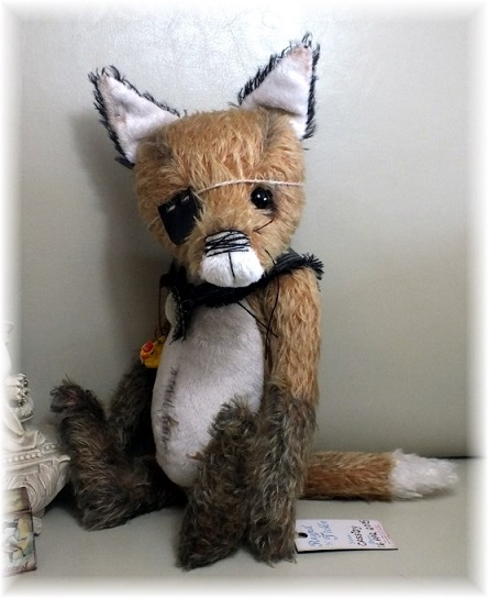 Cassidy - The Crafty Gentleman Fox - ADOPTED