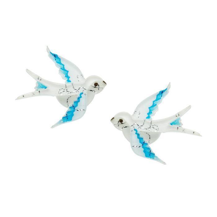 Blue Bayou - Erstwilder Bird Earrings