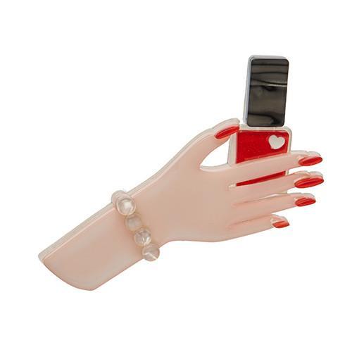 Lacquer de Rouge - Erstwilder Manicure Brooch