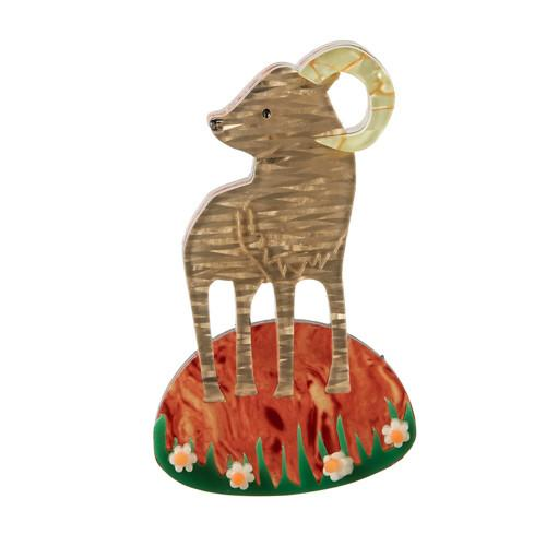 Pride of Big Horn - Erstwilder Sheep Brooch