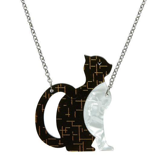 Purrfectly Content - Erstwilder Cat Necklace