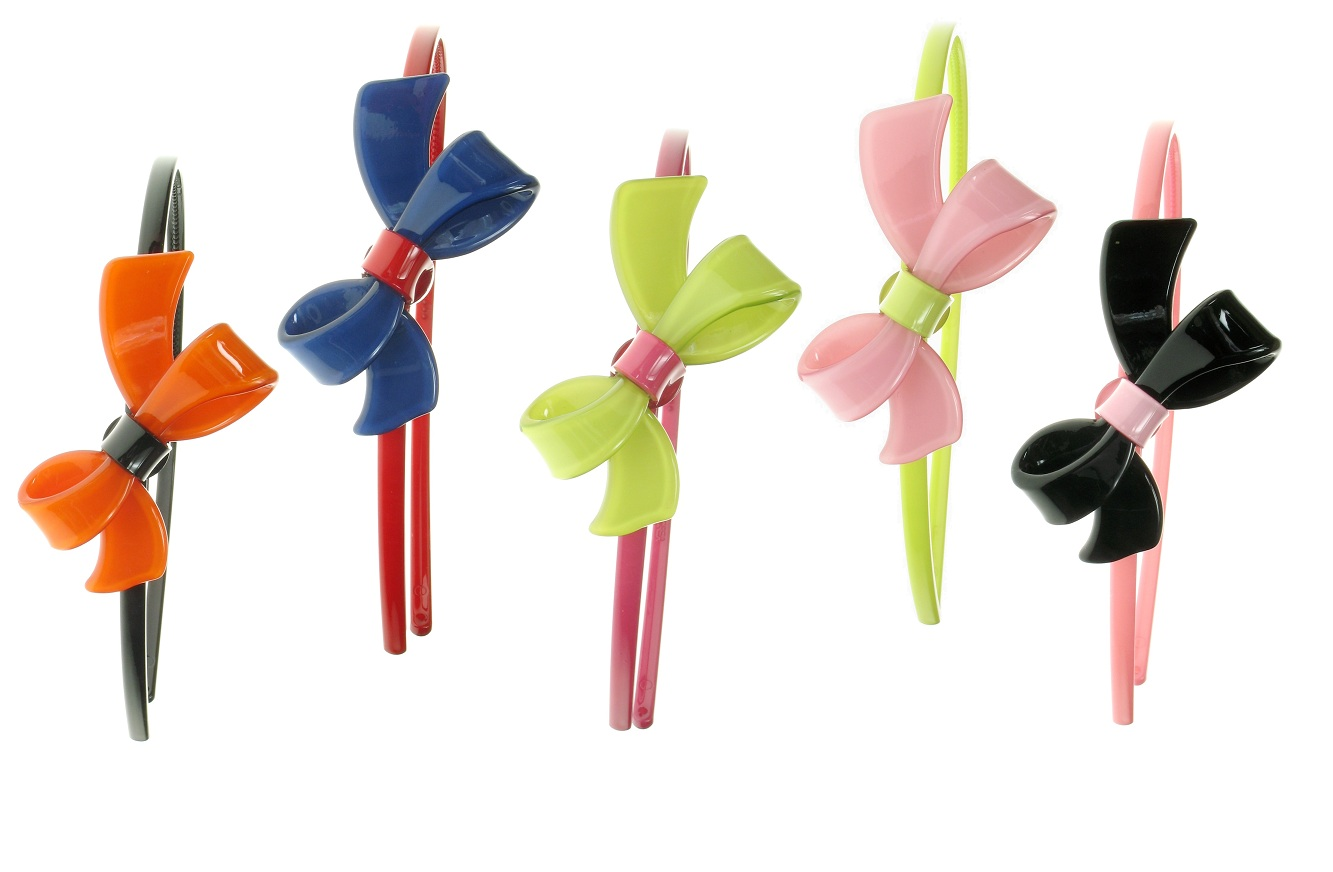 BIG BABY Pretty Bow Tie Hair/Head Band - Colour Set 2