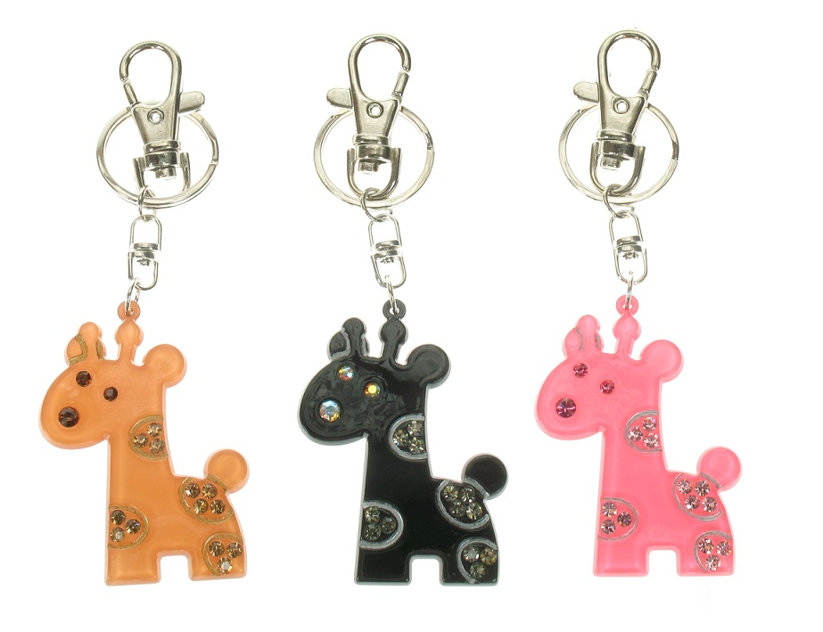 BIG BABY Giraffe Key-Ring/Bag Charm