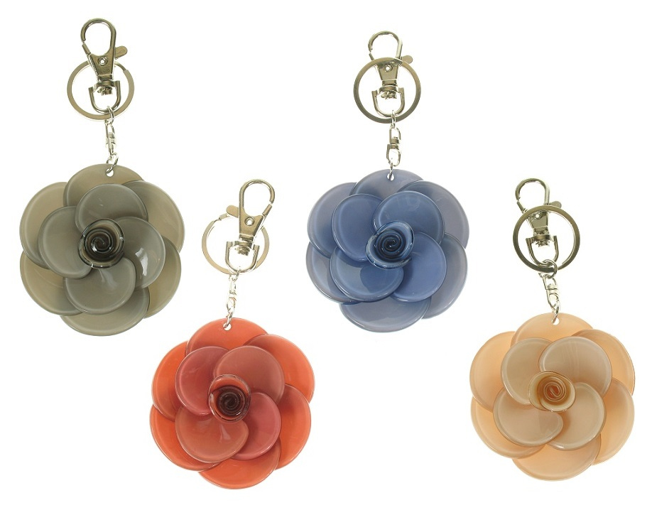 BIG BABY - Large Rose Keyring/Bag Charm