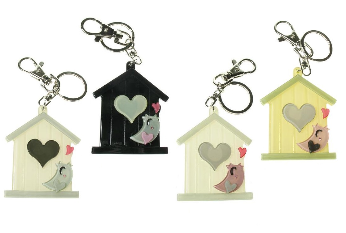 BIG BABY - Bird House Keyring/Bag Charm