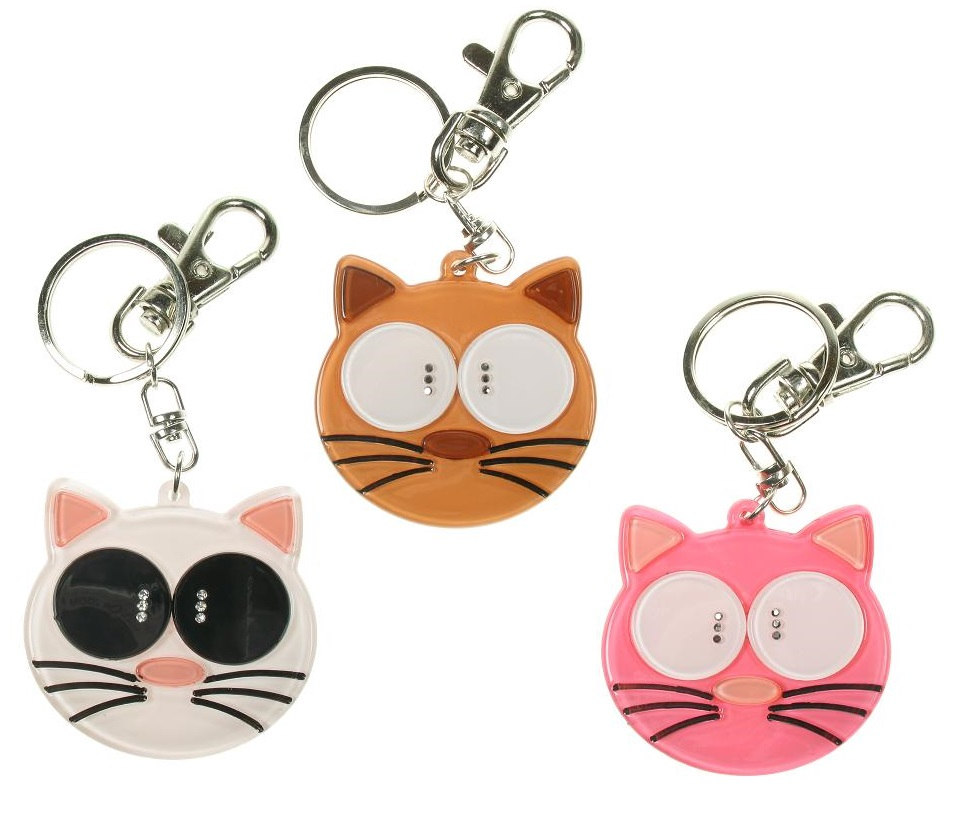 BIG BABY - Big Eyed Cat Keyring/ Bag Charm