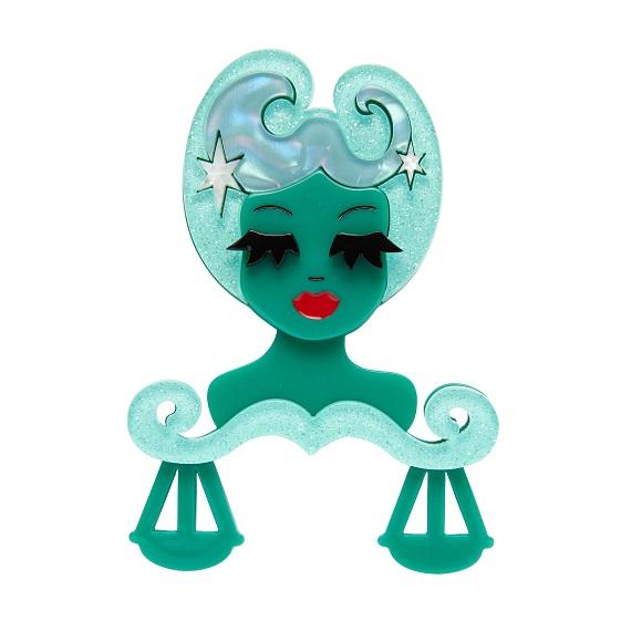 Libra The Learned - Erstwilder Horoscope Brooch