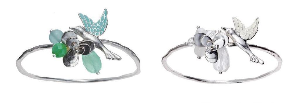 Bohm Love Birds Adjustable Bangle