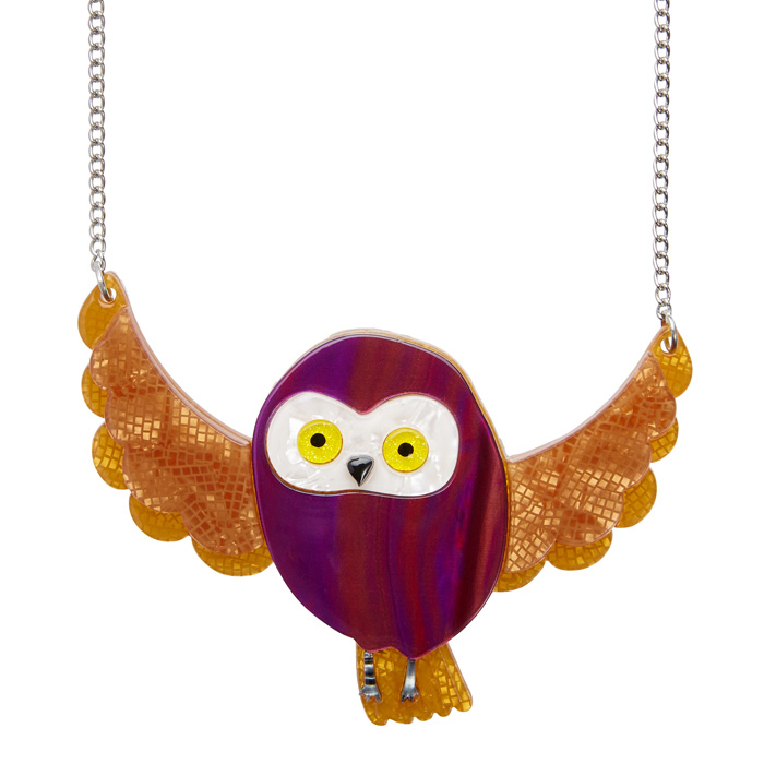 Spark the Owl Necklace - Erstwilder