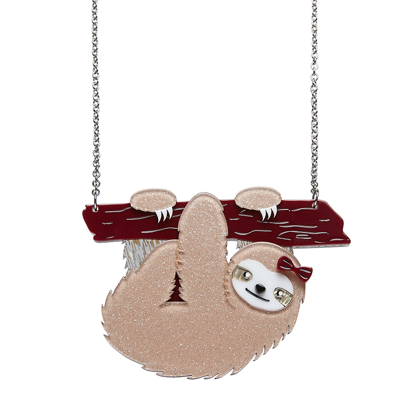 Sybil The Sloth - Erstwilder South American Socialite Necklace