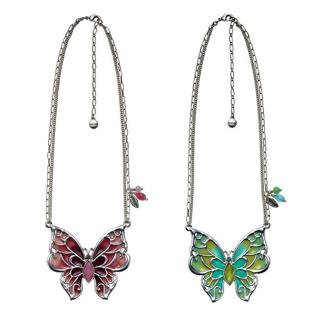 The Bohm Picturesque Butterfly Pendant Necklace