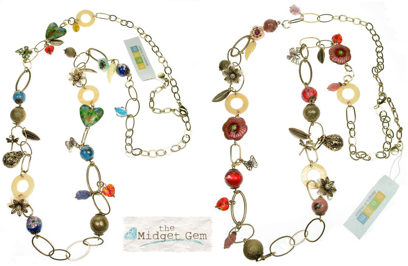 Bohm Summertime Jamboree Long Length Necklace