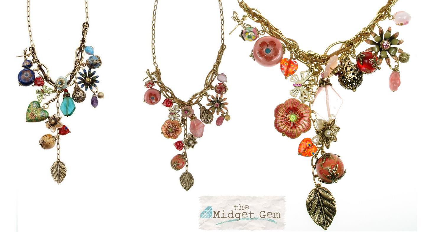 Bohm Summertime Jamboree Y Charm Necklace