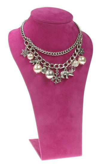 A & C Winter Dream 2-Row Necklace