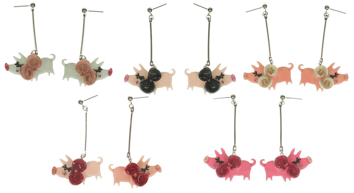 Big Baby Little Piggy Earrings