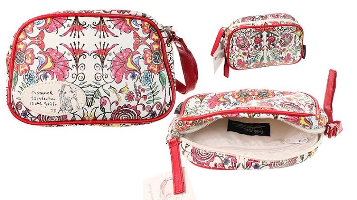 Disaster Designs - Psychedelic Flower Bobbypin Make-Up Bag