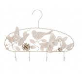Bombay Duck -Organiser Hanger - Cream Paint On Metal BNWT