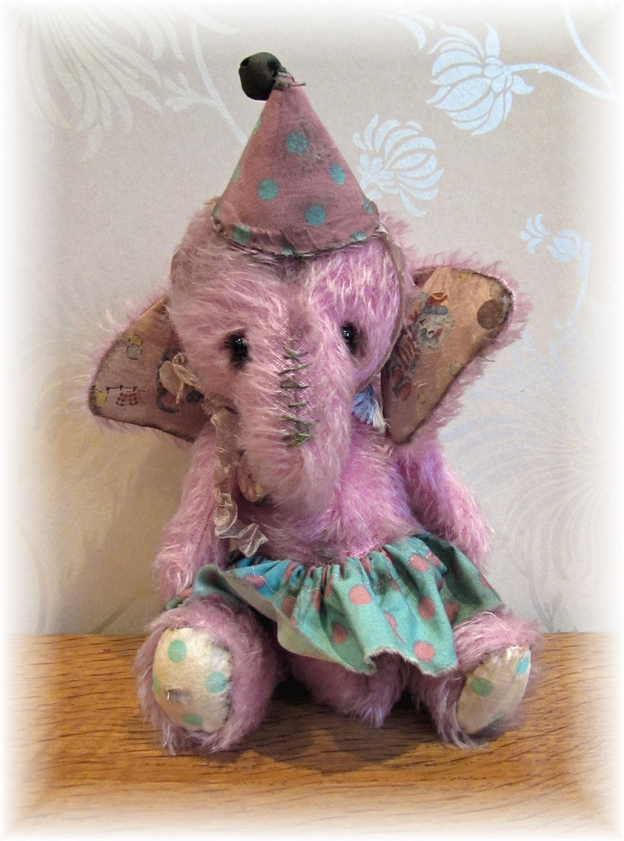 Dotty - Pretty-in-Pink Elephant - ADOPTED