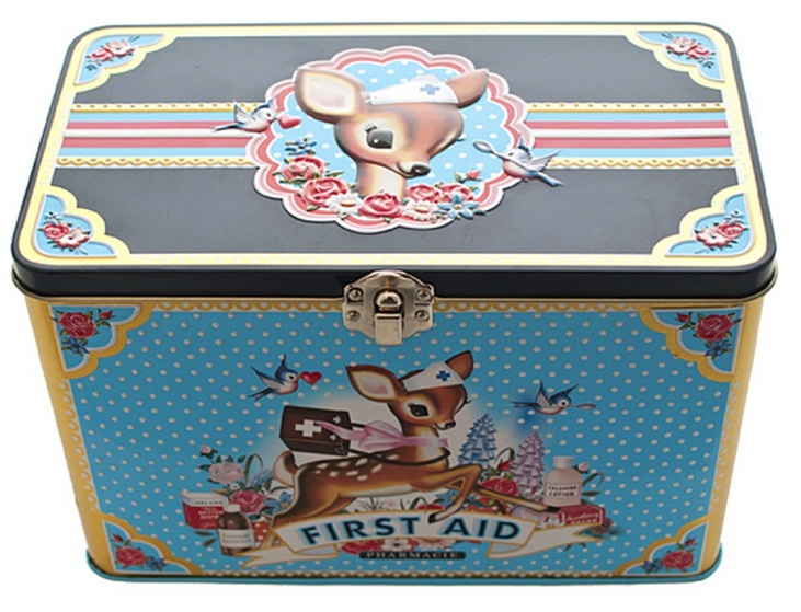 Fiona Hewitt Vintage Design 'First Aid' Tin