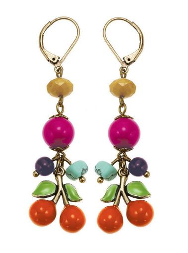 The Bohm Fruity Fruit Cherry Earrings