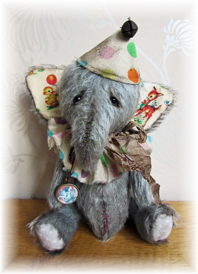 Fuzzy Lump - Retired Circus Elephant ADOPTED