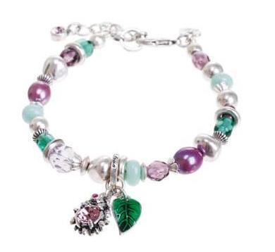 A & C Garden Charm Adjustable Bracelet