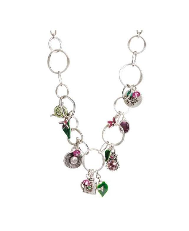 A & C Garden Charm Necklace