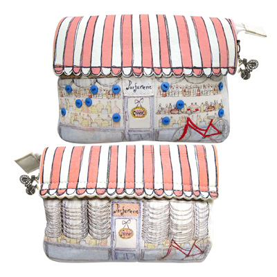 La Boutique Cosmetic Bag By Disaster Designs
