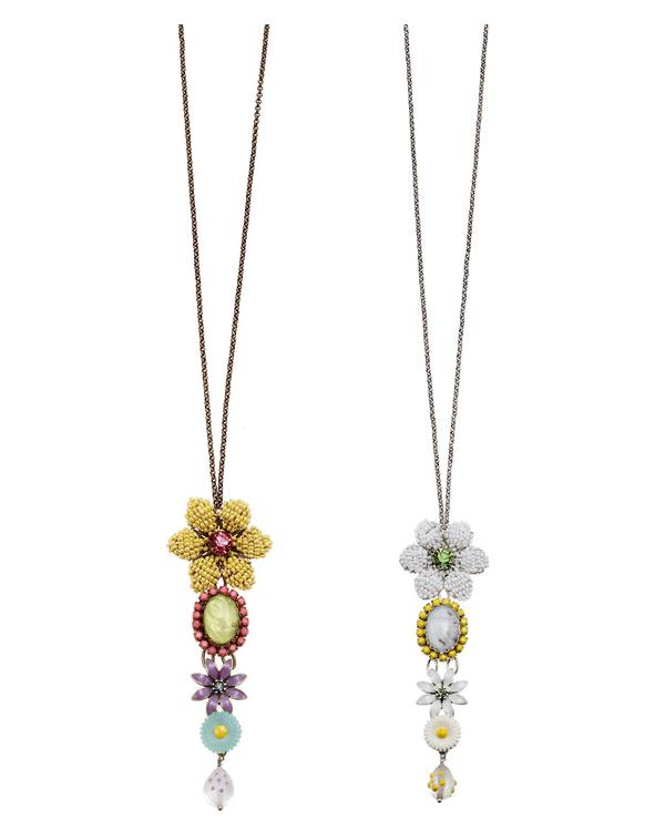 Bohm Botanical Garden Long Necklace