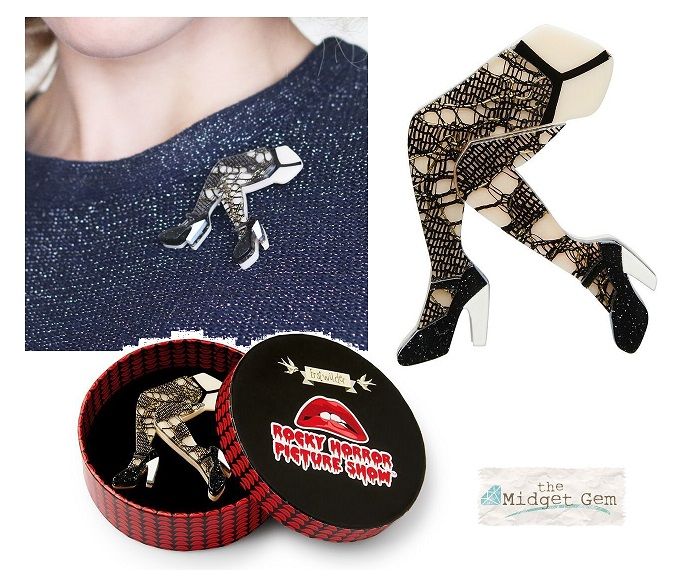 Make You A Man - Erstwilder Stocking-Clad REAL LACE Legs - Rocky Horror Style!