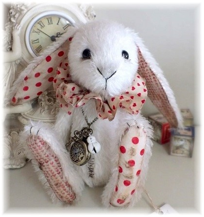 Mr. Topsy Turvy - The White Rabbit - ADOPTED