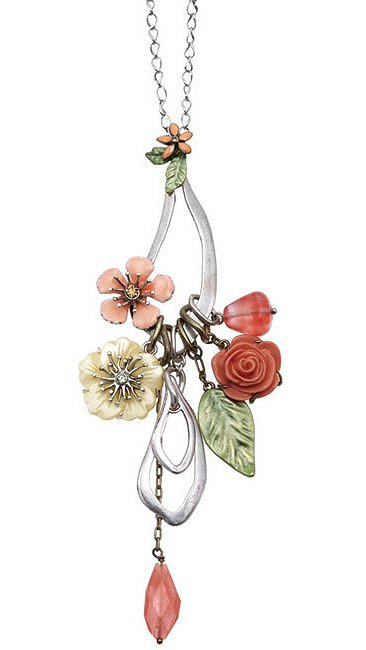 Bohm Floral Couture Flower Long Length Necklace