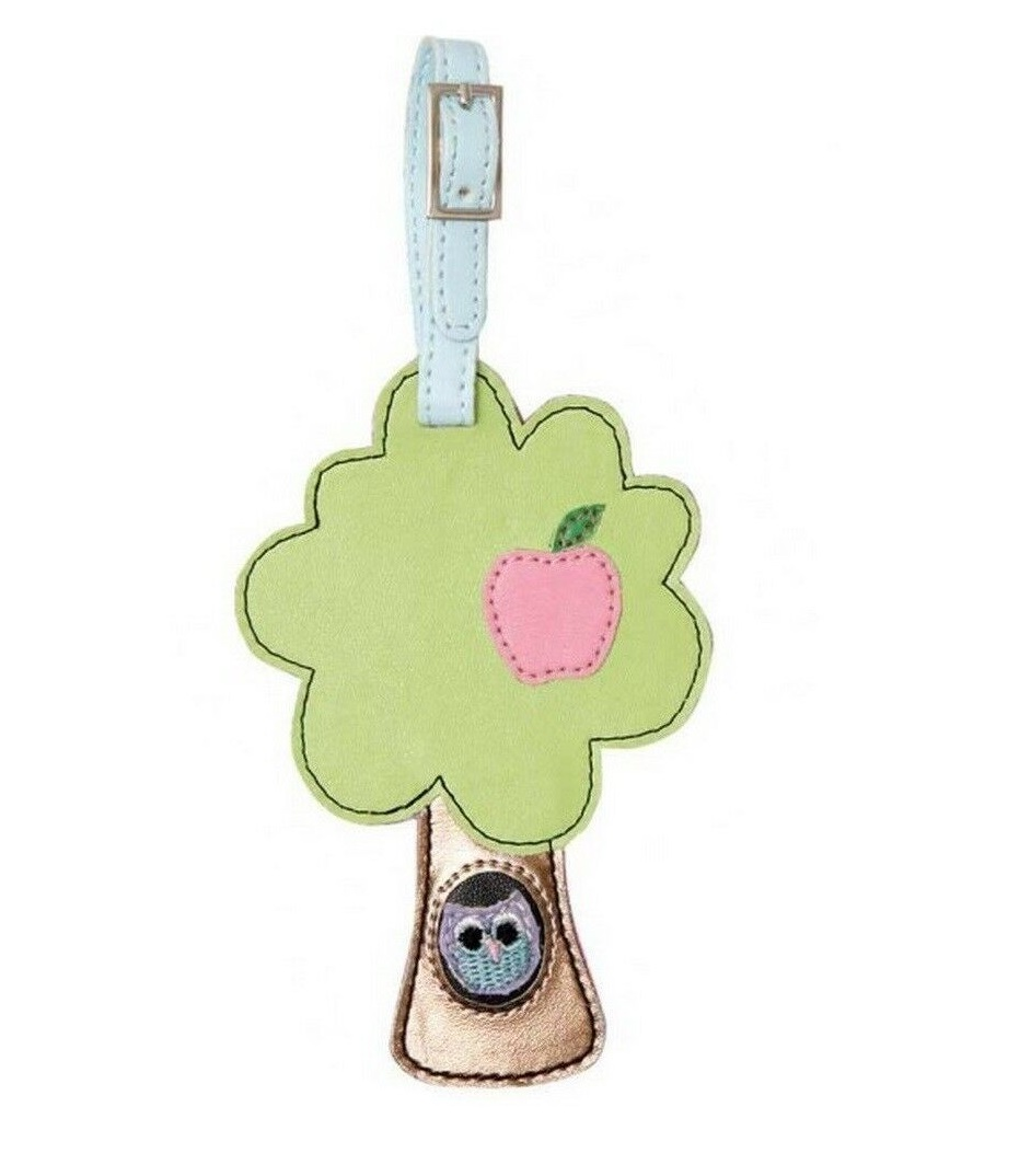 Bombay Duck - Luggage Label - Owl In A Tree