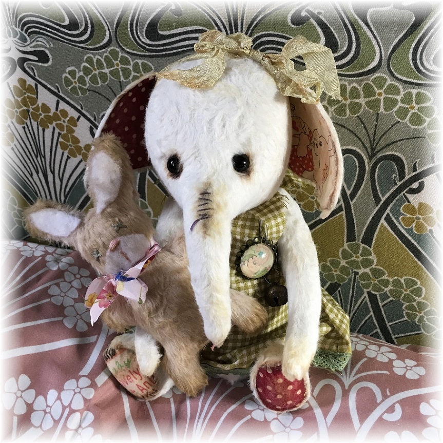 Patty Cake - Little White Elephant & Baby Bunny