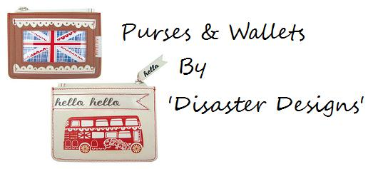 Purses & Wallets By Disaster Designs
