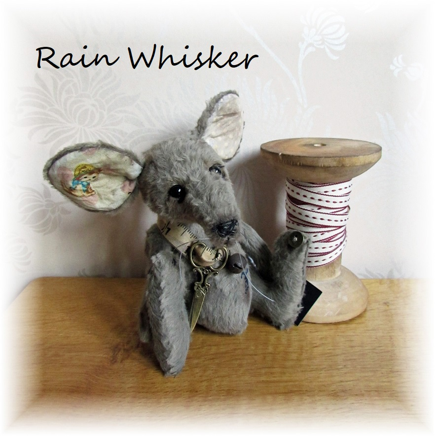 Rain Whisker - Mr. Mouse & Cotton Reel - ADOPTED