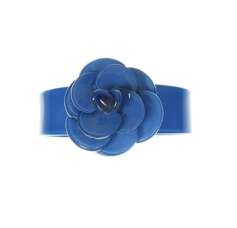 Slim Rose Blue Cuff - BIG BABY Bangle