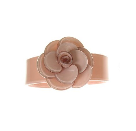 Slim Rose Dusty Pink Cuff  - BIG BABY Bangle