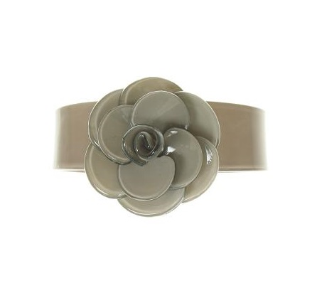 Slim Rose Mid-Grey Cuff - BIG BABY Bangle