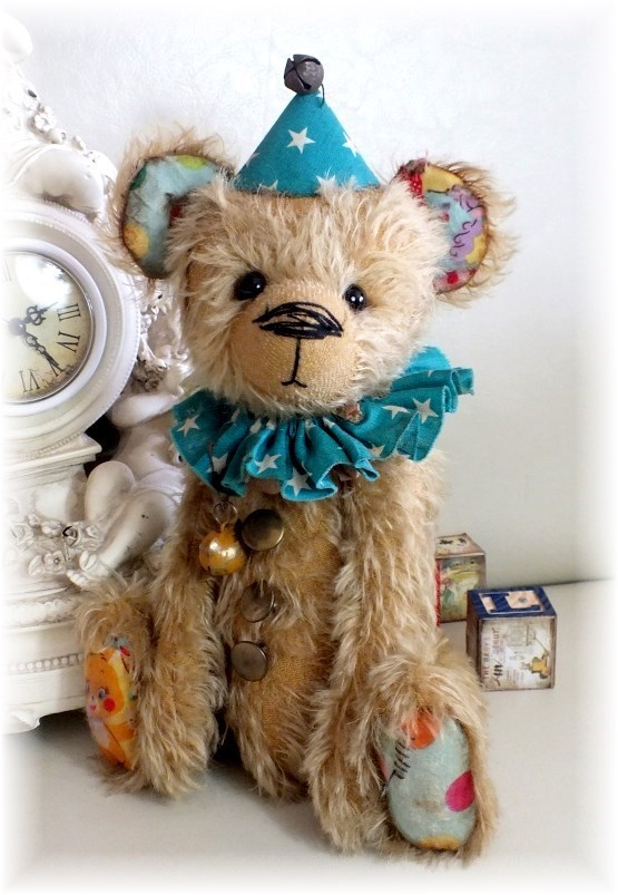 Shabby - A Clown Teddy Bear - ADOPTED