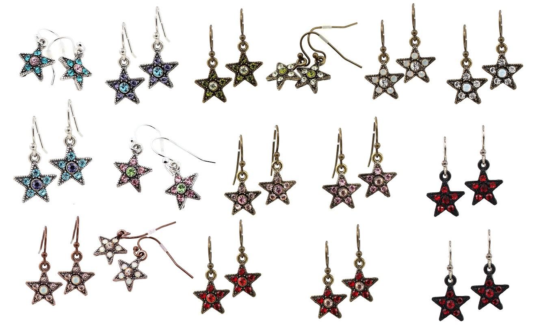 PILGRIM - STARS - Small Star Earrings