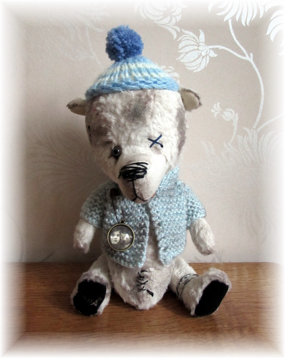 Sparkles - One Blue-Eyed Bear - ADOPTED