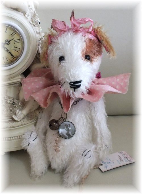 Tinsel - 'Retired' Performing Circus Jack Russell Dog. ADOPTED